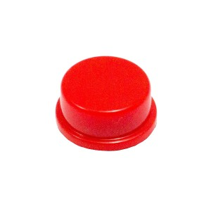 20pcs Round Push Button Cap (Red)