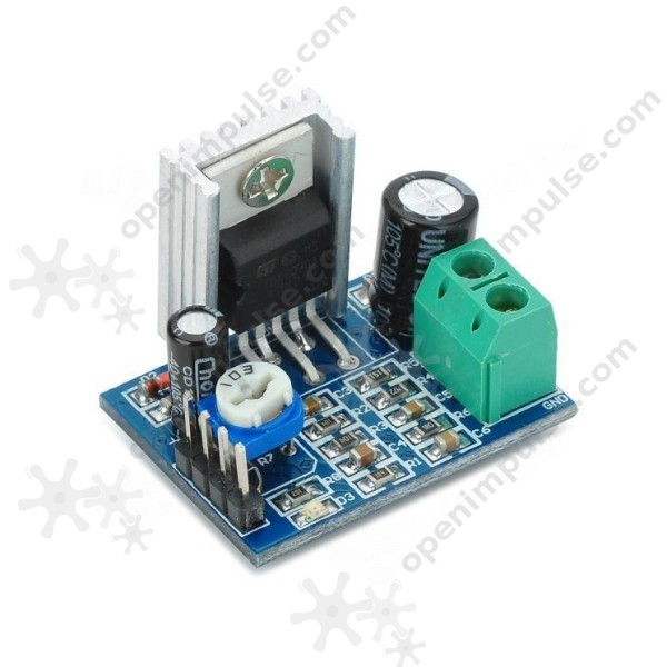 tda2030 audio amplifier module open impulseopen impulsetda2030 audio amplifier module
