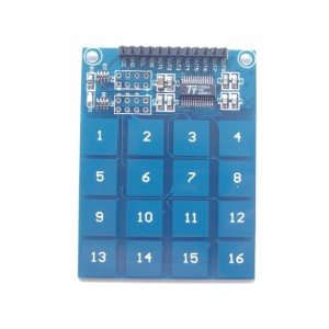 TTP229 Capacitive Touch Sensor Module (16 channels)