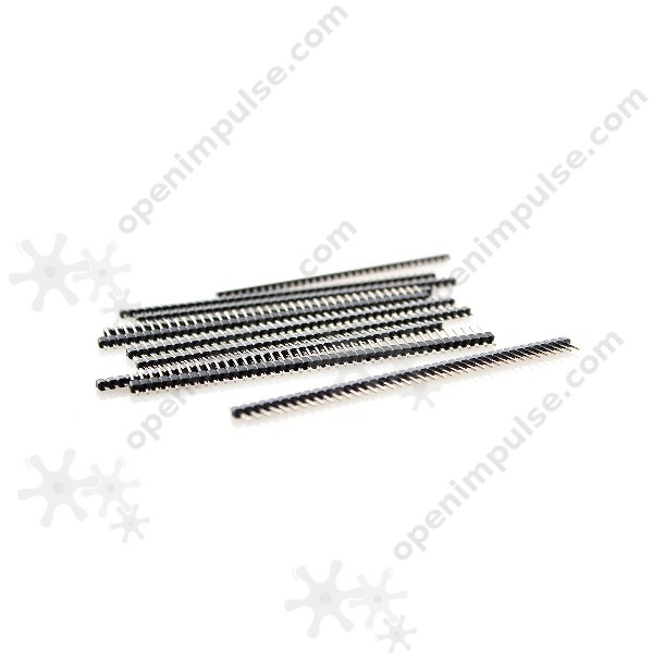 50pcs 1 x 40 male pin header