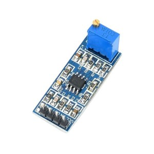 LM358 Amplifier Module (Adjustable Gain up to 100x)