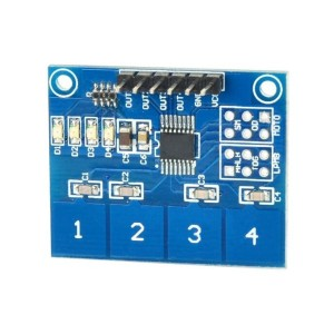 TTP224 Capacitive Touch Sensor Module (4 channels)