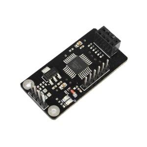 ATmega48 Carrier Board for NRF24L01 RF Transceiver