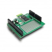 Stackable Bluetooth Shield for Arduino (Slave)