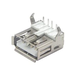 20pcs USB-A Female Socket (90 degree)
