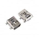 10pcs USB Mini 5p Female Socket (SMD)