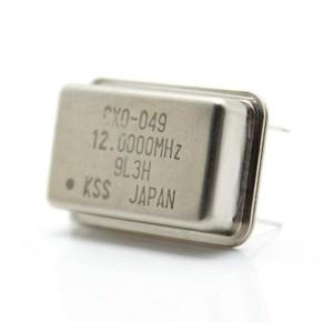 12 MHz 4-pin Quartz Crystal