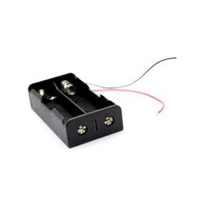 2×18650 Battery Holder with Wires