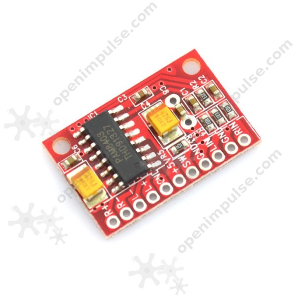 2-Channel 3W PAM8403 Audio Amplifier Board | Open
