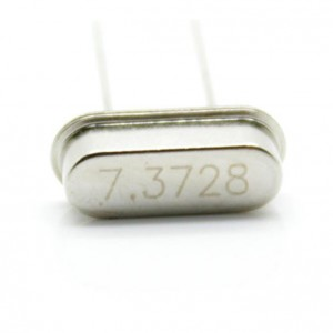 10pcs 7.3728 MHz Quartz Crystal (49S)
