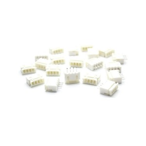 50pcs XH2.54-4P Straight Pin Header