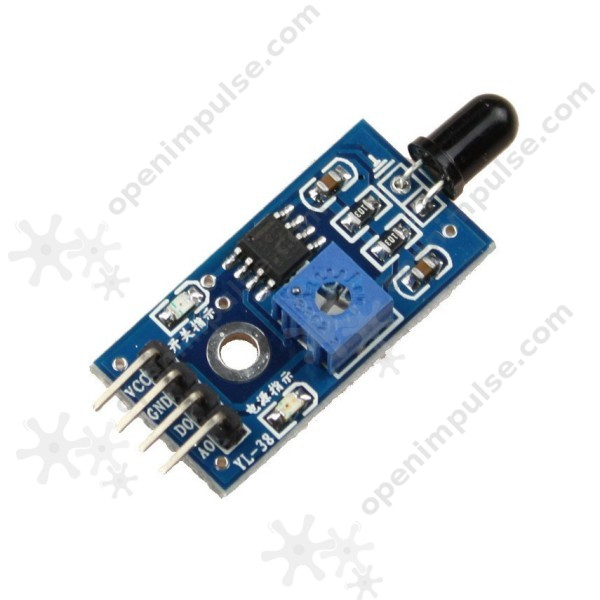 Flame Sensor Module | Open ImpulseOpen Impulse