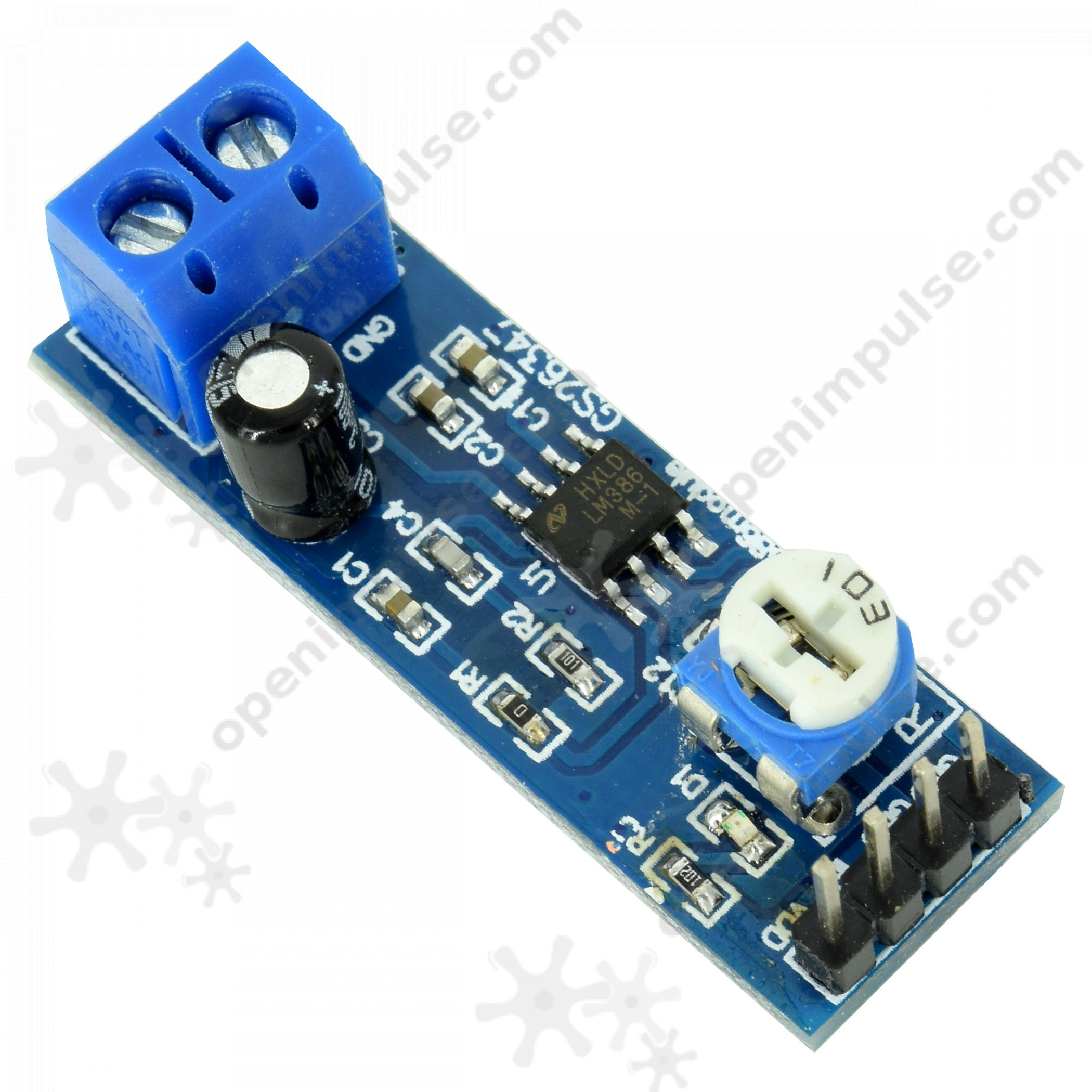 2pcs Lm386 Audio Amplifier 200x Open Impulseopen Impulse Working Operation Of Ic 4 The