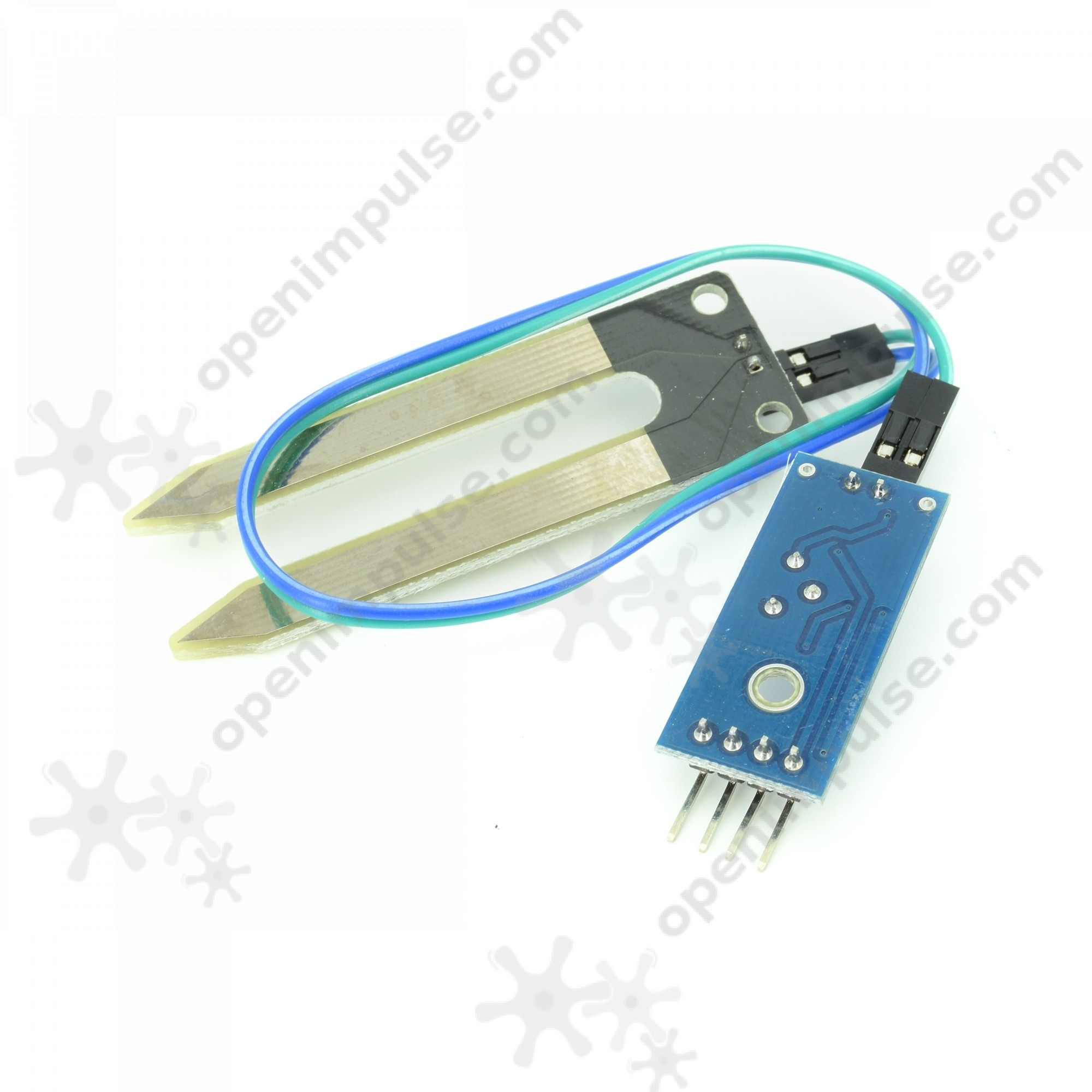 2pcs soil moisture sensor open impulseopen impulse for Soil moisture sensor