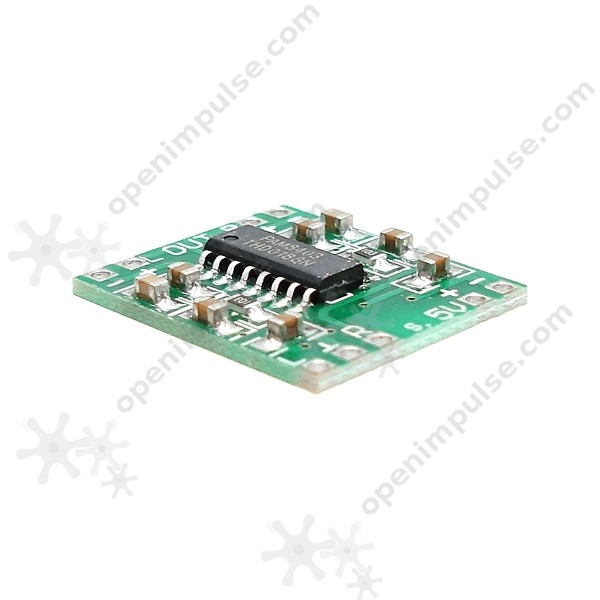 10pcs PAM8403 Miniature Class-D 3W Stereo Amplifier | Open