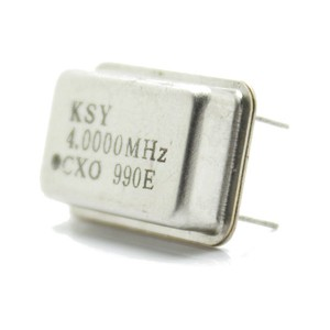 4 MHz 4-pin Quartz Crystal