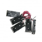 5pcs 2xAAA Battery Holder with Wires