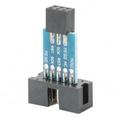4pcs AVR ISP 6 Pin to 10 Pin  Adapter