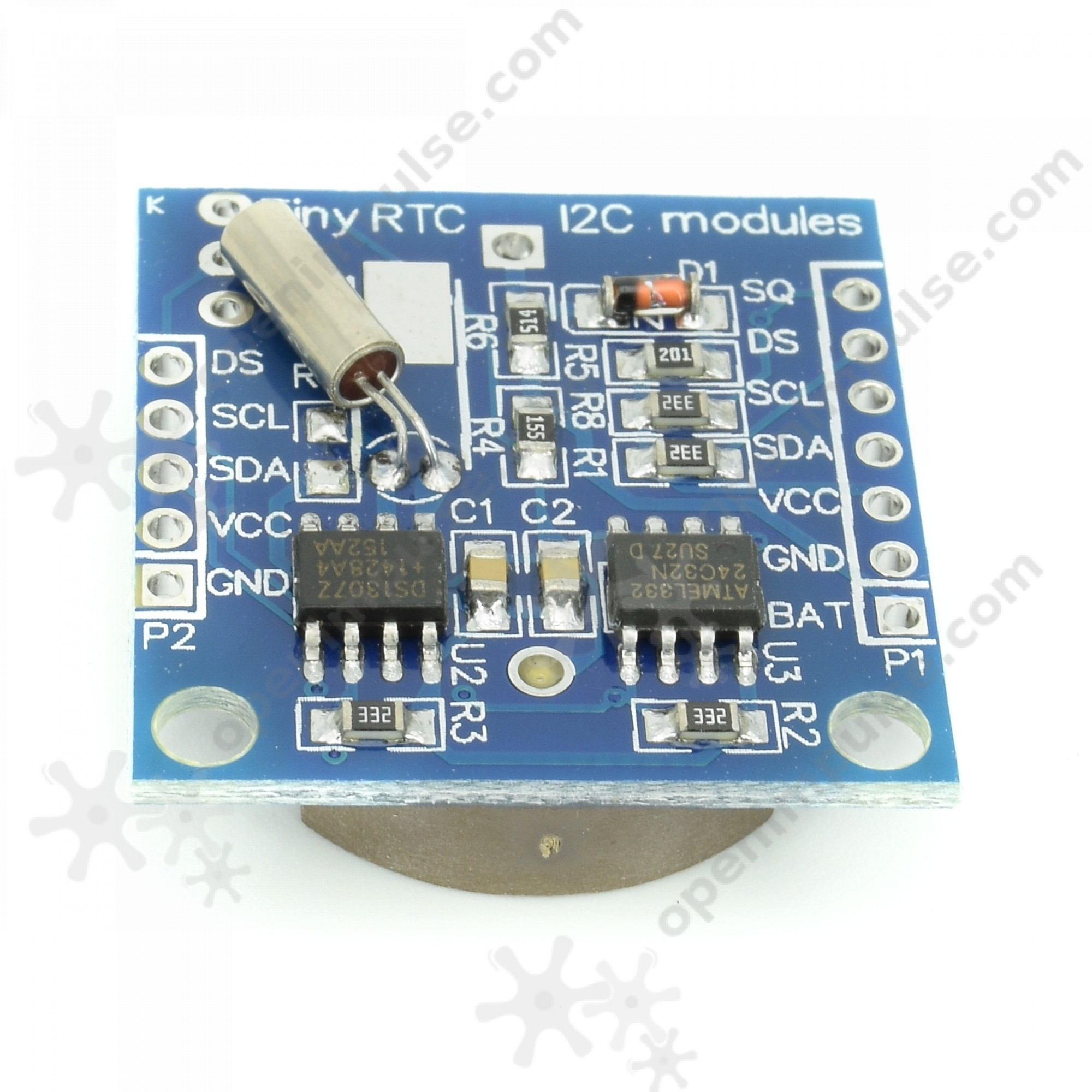 Ds1307 Real Time Clock Module Open Impulseopen Impulse Digital Using Pic Microcontroller And Rtc 4 5