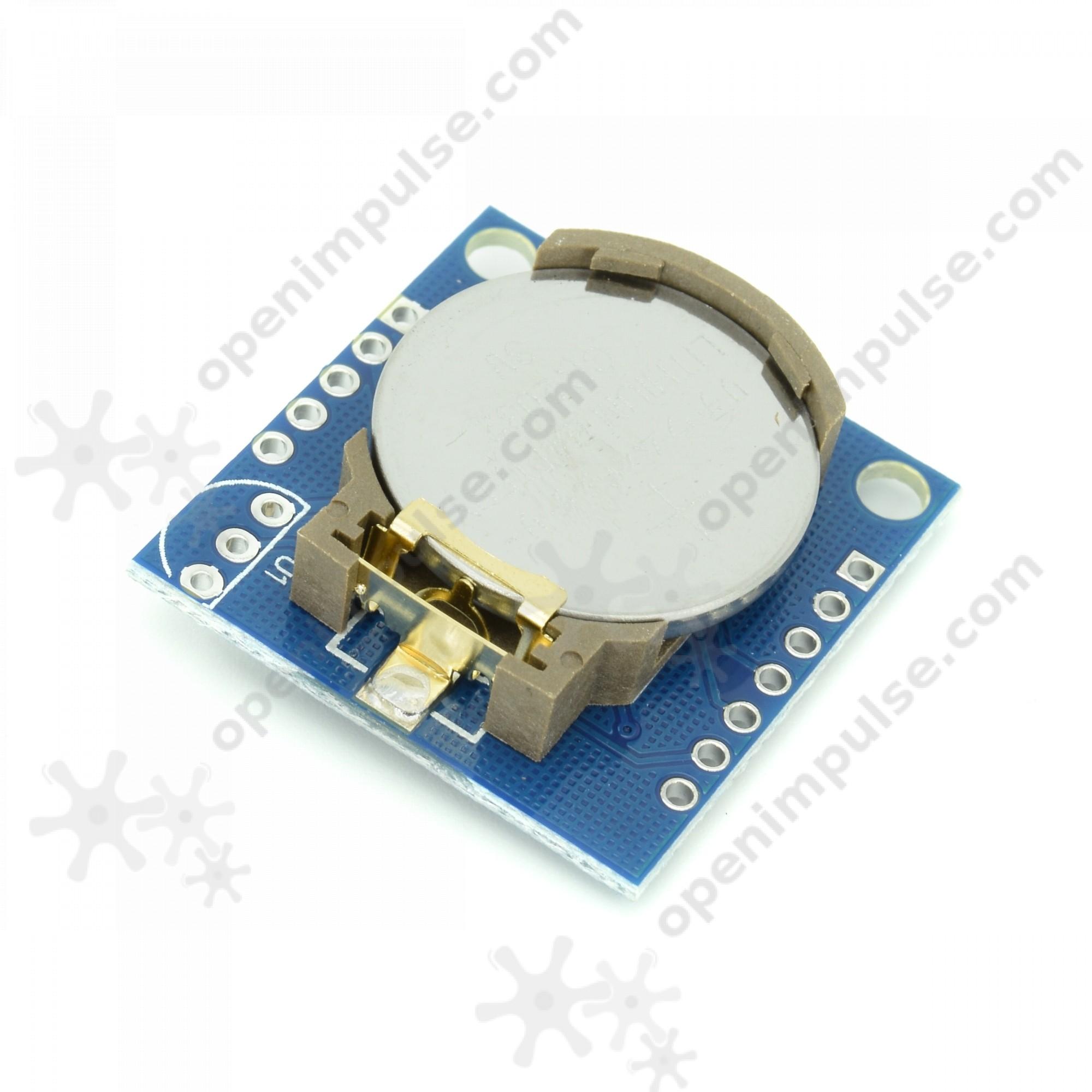 Ds1307 Real Time Clock Module Open Impulseopen Impulse Ds1307realtimeclockschematic