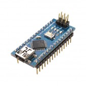 Nano Development Board with ATmega328p + CH340 (Arduino Compatible)