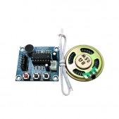 ISD1820 voice recording module with MIC and 0.5W speaker