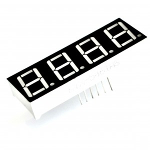 "5pcs Digital 0.36"" 7-Segment LED Display with 4 Digits"