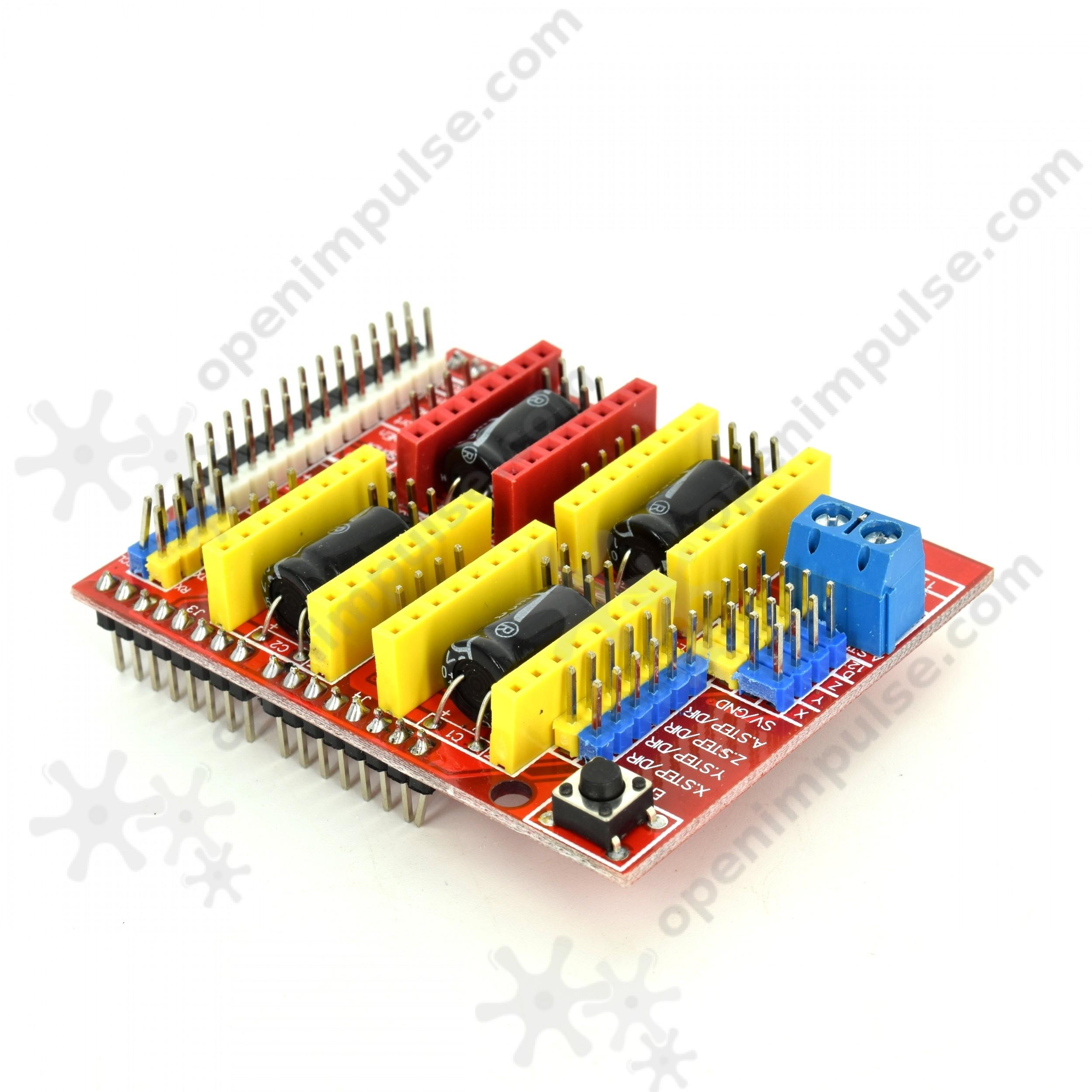 A4988 CNC Shield v3 for Arduino | Open ImpulseOpen Impulse