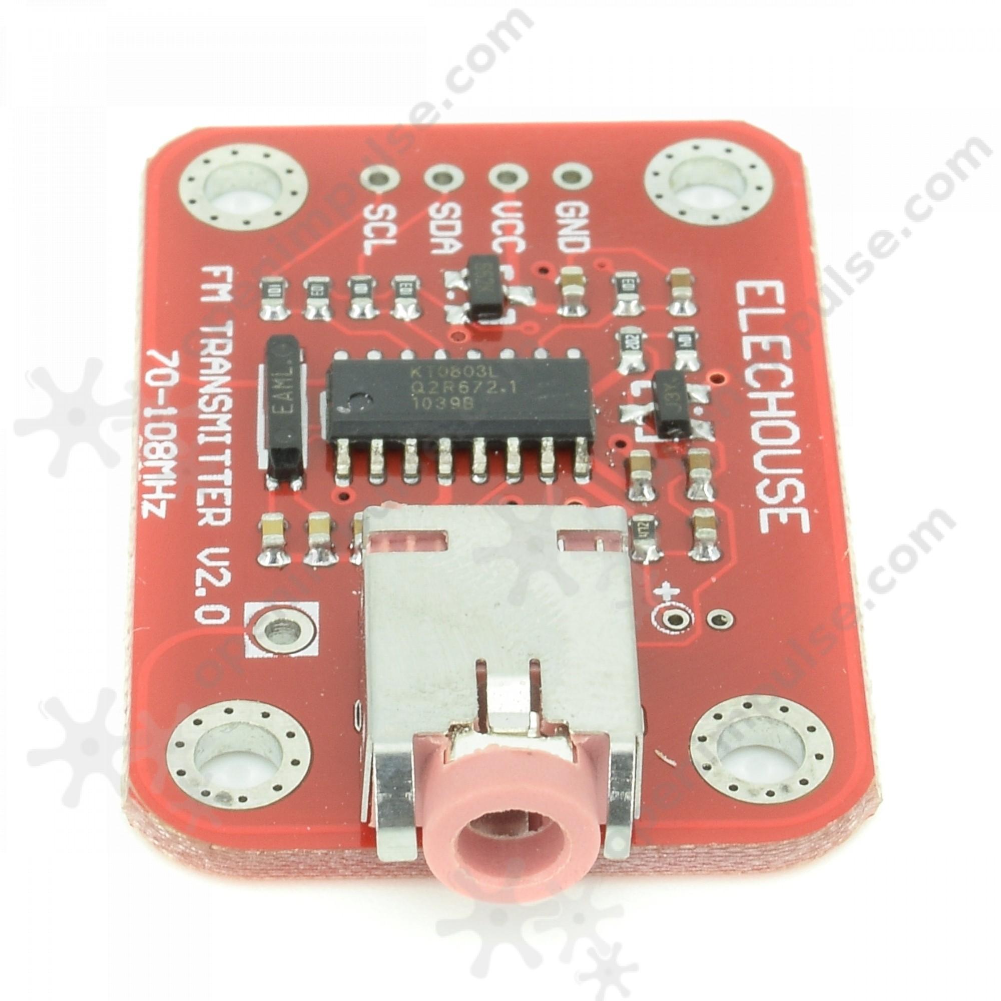 Fm Radio Transmitter Module Open Impulseopen Impulse Circuit Stripboard Layout 2 4 6 This