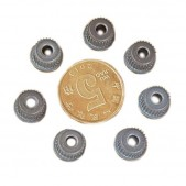 10pcs Metal Gear with 3.1 mm Bore (for belt)