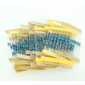0.25W Resistor Set (20 values, 20 pcs each)