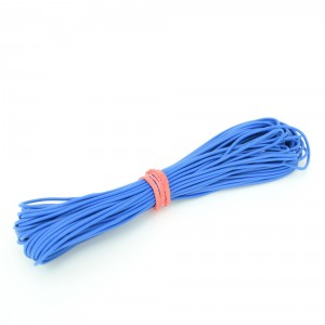 10pcs 1 mm Blue Wire (1 meter length)