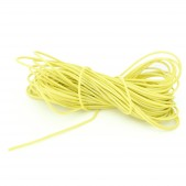10pcs 1 mm Yellow Wire (1 meter length)