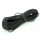 10pcs 1 mm Black Wire (1 meter length)