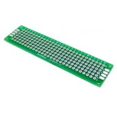 5pcs 20×80 mm Green Universal Prototyping Board