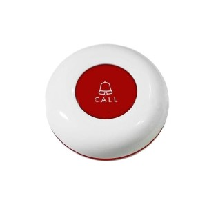 433MHz Call Switch Circular – Red