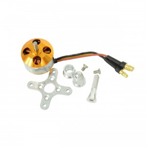A2212 Brushless Motor with Banana Plugs (1400 KV)