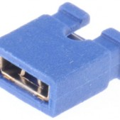 Blue 2.54 mm Jumper (open top) – 2000 pcs bag