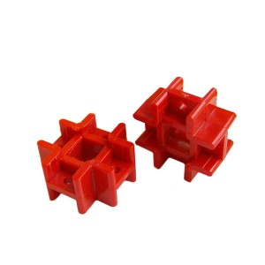 10pcs Cross Connector for Plastic Bars