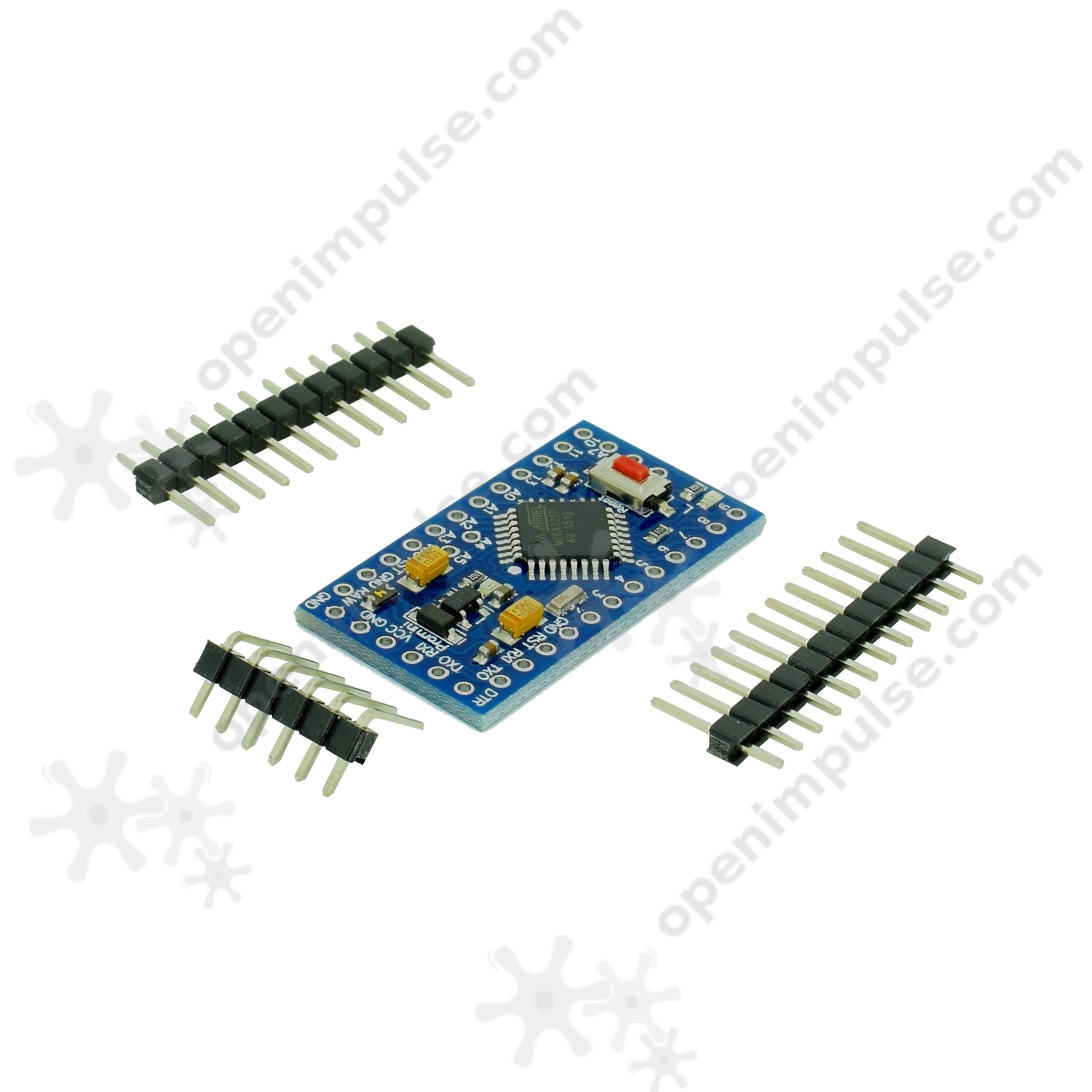 Pro Mini Development Board with ATmega328p(Arduino Compatible