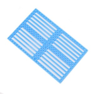2pcs Drilled Plastic Panel – Blue