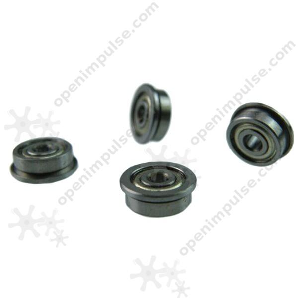 5pcs F623ZZ Aluminium Flange Bearings