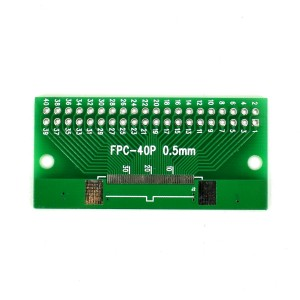 5pcs FPC 40p PCB Adapter
