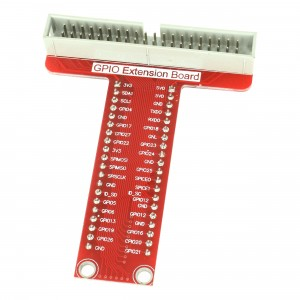 GPIO Adapter for Raspberry Pi v3 Model B (T shape)