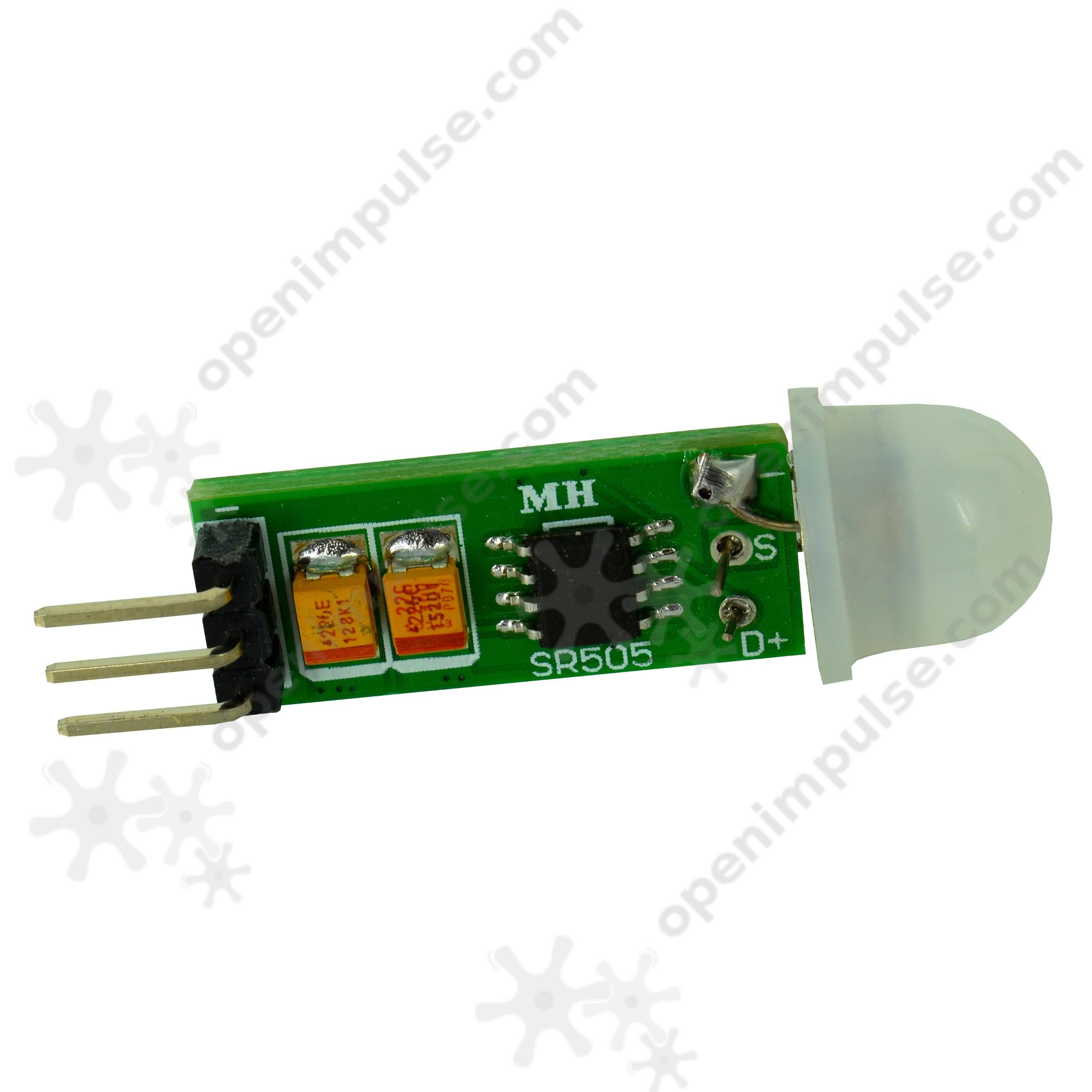 HC-SR505 Miniature PIR Sensor | Open ImpulseOpen Impulse