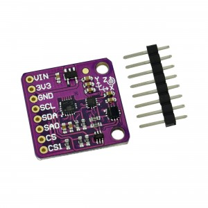 LSM6DS33, LIS3MDL and LPS25H 10DOF Digital Accelerometer, Giroscope, Magnetometer and Barometer Module