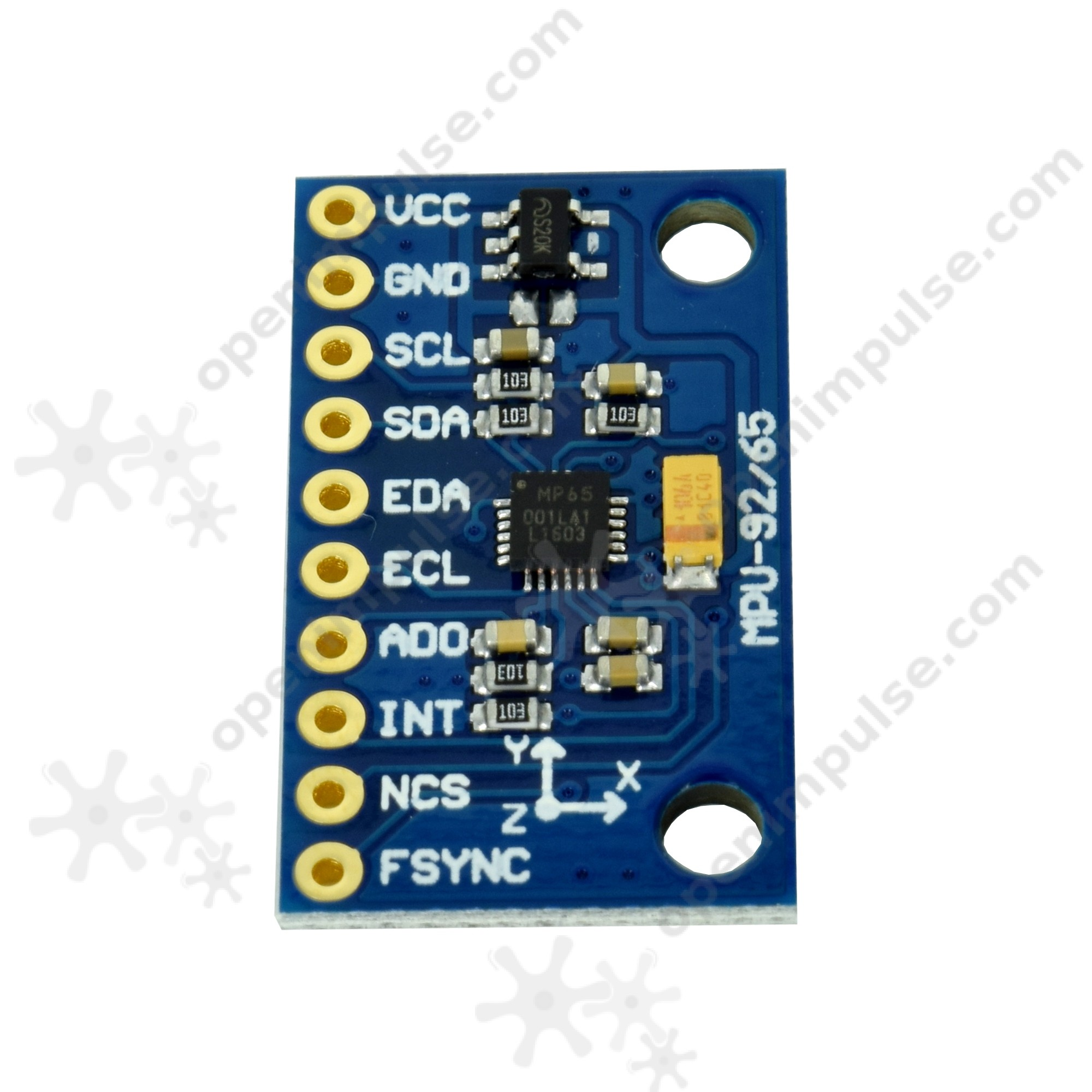 GY-MPU6500 Accelerometer and Gyroscope Module | Open