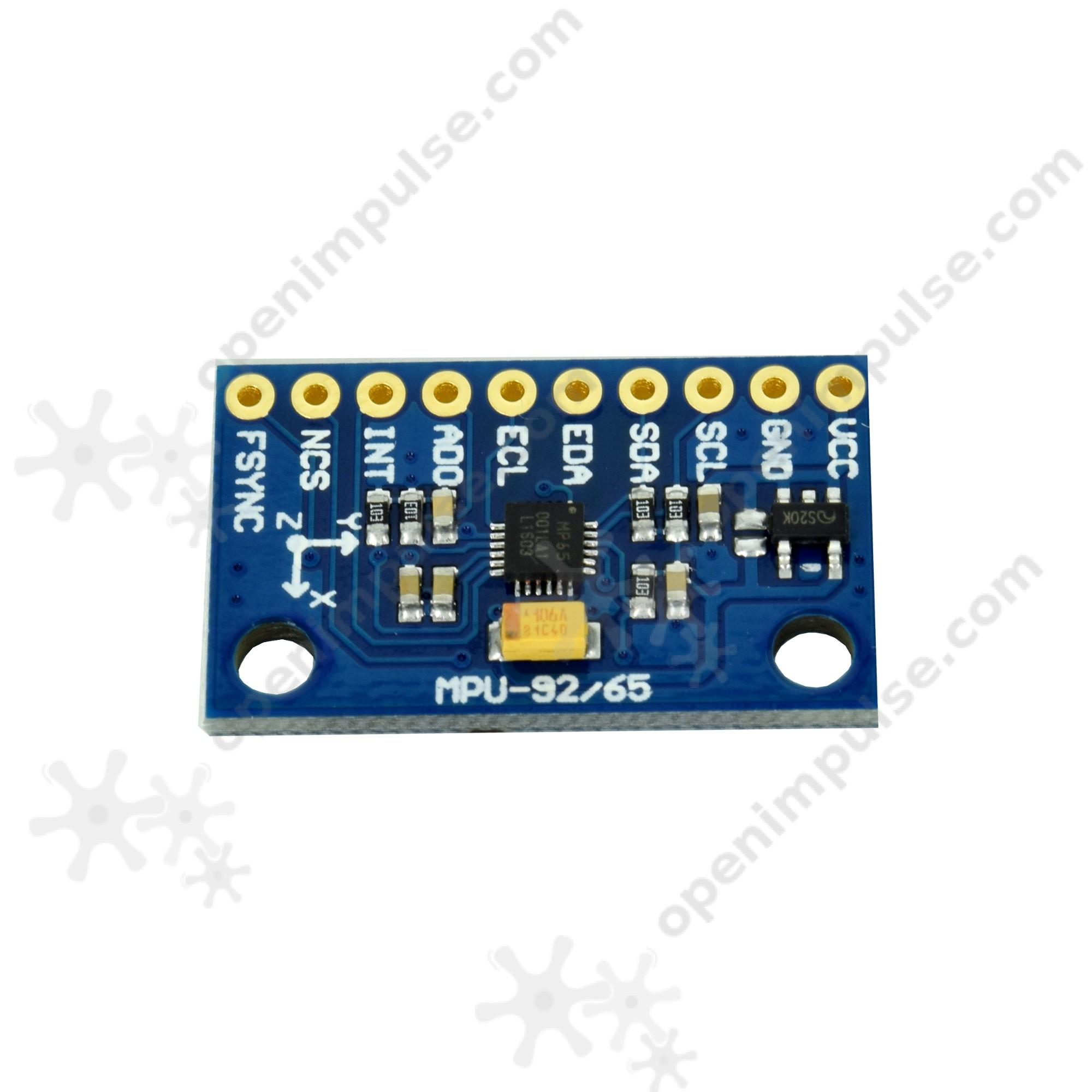 GY-MPU6500 Accelerometer and Gyroscope Module | Open