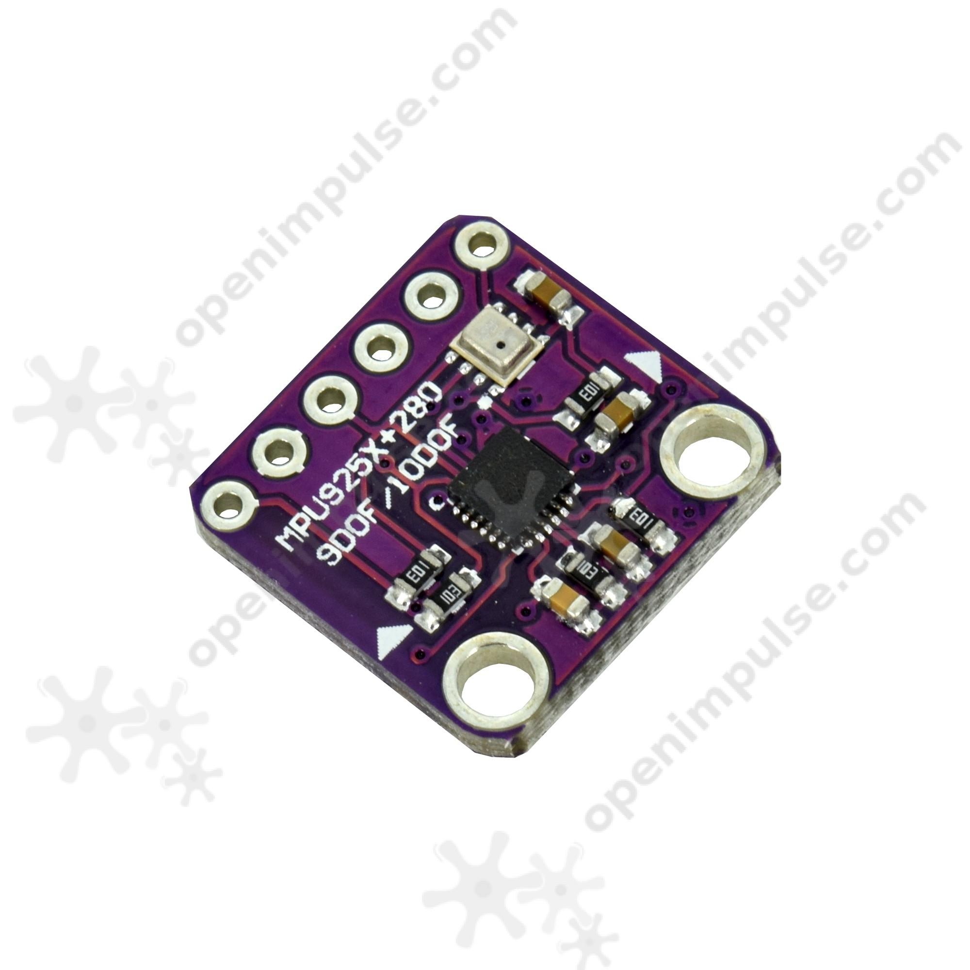 MPU9250 and BMP280 10DOF Digital Accelerometer, Giroscope
