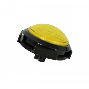 Massive Arcade Button with LED – 100mm Yellow